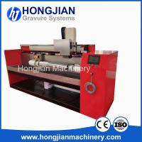 Quality Cost-effective Chrome Finishing Machine Gravure Cylinder Polishing Machine Microfinishing Film Sand Belt Polishing Band wholesale