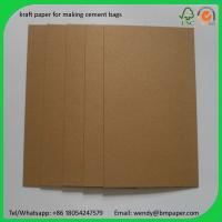 Quality BMPAPER High Quality Test Liner Fluting Paper For Making Craft Paper Box  for cement bags wholesale