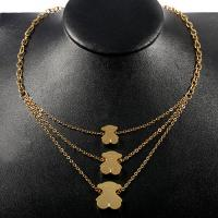 Quality Custom Multi Layer Chain Necklace , Stainless Steel Jewelry Necklace wholesale