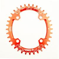 Quality CNC Machining Color anodized 7075-T6 Aluminum Bicycle Bike BMX Sprocket wholesale