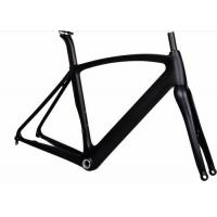 Quality Aero 12MM Thru Axel Carbon Road Bike Frame T700 700C With UD / 3K Weave wholesale