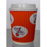 Buy cheap Food Grade Single Wall Paper Cups With Double Side PE Coated Color Optional from wholesalers