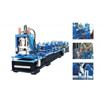 China Color steel corrugated roof sheet making glazed tile roll forming machine for sale on sale
