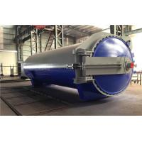 Quality Rubber Vulcanized Autoclave With Safety Interlock , PLC Control,and is of high temperature and low pressure wholesale