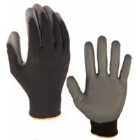 Quality Best selling OEM working gloves good quality PU Glove knit wrist of size S, M, L, XL of China supplier wholesale