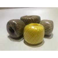 Quality Twist Caco3 Polypropylene Twine For Cable Filler 7-40kg / Roll With Spool wholesale