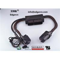 China Flat Custom Made Automotive Wiring Harness Length 100mm With Idc Connector on sale