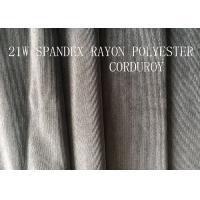 21W  SPANDEX RAYON POLYESTER CORDUROY FOR GARMENT
