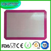 Quality Hot Selling Food Grade Fashion Non Stick silicone baking mats / silicone baking mat set wholesale