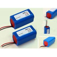 Quality Vacuum Cleaner Robot Battery Pack 14.4V For Wireless Monitoring Devices , 3500mAh 4S1P wholesale