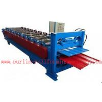 Quality Waterproof Corrugated Roof Tile Roll Forming Machine for Factory , Warehouse , Garage wholesale