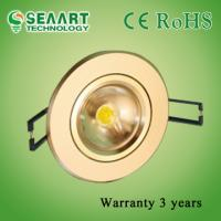 Quality Lower Consumption 100 Degree 7W Dimmable LED Downlight Cree-MCE-J-WW 430LM wholesale