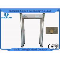 Quality Multi Zone Archway High Sensitive Metal Detector Door Frame Support Cctv Camera wholesale