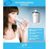 Cheap Health Hydrogen Water Health Alkaline Water Ionizer With Rechargeable Lithium Cell for sale
