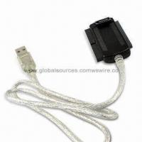 Quality Dual SATA Plug Connector to IDE, USB, PATA Adapter Cable Assembly for Hard Drive, Laptop wholesale