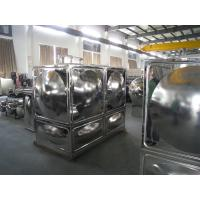 Quality Stainless Steel Water Tank With Durable Corrosion Crack Panel wholesale