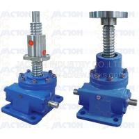 China 25 Ton Ball Screw Jack High Precision Ball Screw Dia. 80MM Lead 16MM Gear Ratio 32:3, 32:1 on sale