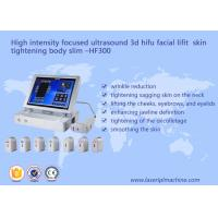 Quality high intensity focused ultrasound 3d hifu facial lifit skin tightening body slimming - HF 300 wholesale