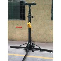 China Crank Handle Heavy Duty Light Stand / Speaker Truss Lift Stand Telescopic Lifting Tower on sale