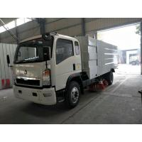 Quality High Efficient Street Cleaner Truck , 4x2 Dust Collecting Road Sweeping Machine wholesale