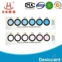 Quality DMF Free Six Dots Blue To Pink Humidity  Indicator Card For  Packages of  Electronics wholesale