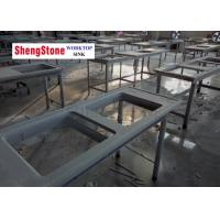 Quality Double Water Trough Chemistry Lab Countertops 16mm Thickness SGS Certification wholesale