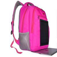 Quality 3.5W Nylon Backpacking Solar Charger , 6V Womens Backpack With Built In Charger wholesale