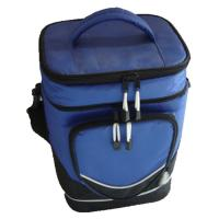Buy cheap Two Compartment Insulated Picnic Bag PEVA PVC Cotton Food Container from wholesalers