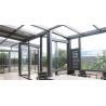 Buy cheap High End Garden Aluminum Sun Room , Powder Coated Aluminium Glass House from wholesalers