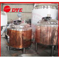 Quality 100L Copper Home Brew Kits , Professional Beer Brewing Equipment wholesale