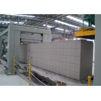 Quality AAC Cutting Platform / Automatic Concrete Block Making Machine / AAC Block Line wholesale
