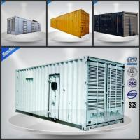 Quality With Cummins KTA50-G3 ISO Standard 40FT Containerized 1000kw diesel generator 1250kva container generator wholesale
