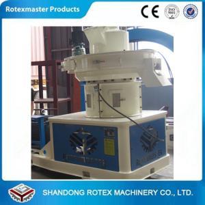 Quality 1000 kg/h-1500kg/h Wood Pellet Machine , sawdust rice husk pellet machine wholesale