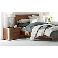 Cheap Apartment Furniture Modern design Bedroom sets of Single Bed with Nightstand and for sale