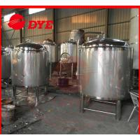 Quality DYE Chemical Stainless Steel Hot Water Storage Tanks For Breweries wholesale