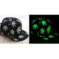 China Fluorescent hat cap with flat brim party hat on sale