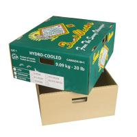 Buy cheap Strong Fruit Packaging Carton Tomato Box Cherry Box with Lid from wholesalers