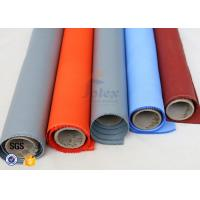 Quality Expansion Joint 3732 silicone rubber coated fiberglass fabric Grey Blue 350gsm 580gsm wholesale