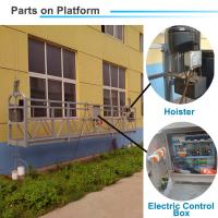 Quality ZLP800 Climbing Platform 440V/60Hz High Window Cleaning Equipment Sale for Philippines wholesale