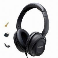 Quality Rubber-coated Active Stereo Noise-cancelling Headphone, 40mm Speaker for Aviation wholesale