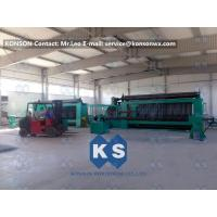 Twisting Metal Wire Hexagonal Gabion Mesh Weaving Machine , 4300mm Double Rack Drive