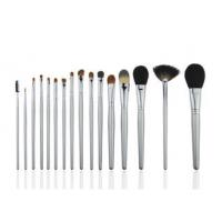 China Natural 16 Piece Bronzer Blush Makeup Brush Beauty Professional Cosmetic Brush Set on sale