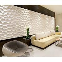 Cheap Colored Decorative Embossed panels for TV SPA Bed Wallpaper 3d Sandwich Board for sale
