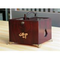 Quality Girls lamination Tea / Exhibition / Jewelry Wood Boxes Packaging Rectangular Shaped wholesale