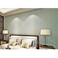 China Embossed Bedroom No Glue Self Adhesive Vinyl Wallpaper with Leaf Pattern , European Style on sale