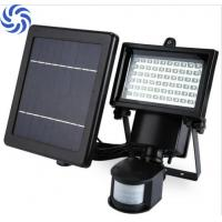 Quality Waterproof Solar Flood Lights / 60 LED Solar Security Light With Motion Sensor wholesale