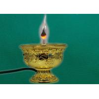 Quality Zinc die casting ghee lamps for buddhist ornaments wholesale