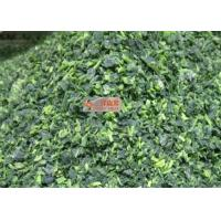 Quality No Additive Healthy Freeze Dried Spinach Cuts For Instant Meal / Soup wholesale
