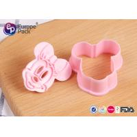 Buy cheap Pink Children Safety Plastic Kitchenware 12.4G 6 Cm Long 5.5 Cm Width from wholesalers