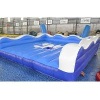 China Funny Inflatable Sports Equipment Inflatable Surf Simulator With Fire Resistant PVC on sale